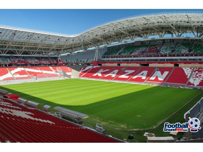 A photo of Kazan Arena uploaded by zotov