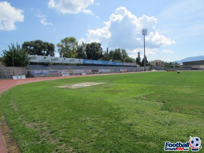 A photo of Kerkyra Stadium uploaded by borostockton