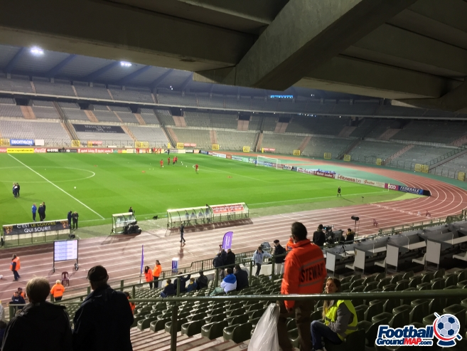A photo of King Baudouin Stadium (Heysel Stadium) uploaded by andy-s