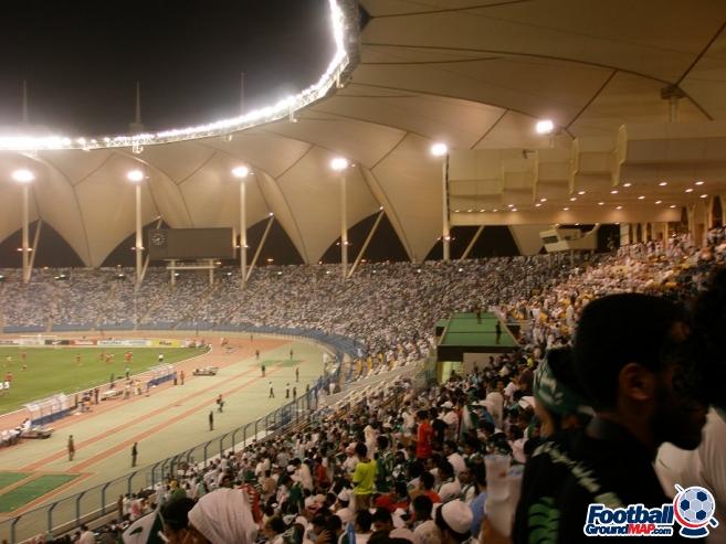 A photo of King Fahd International Stadium uploaded by dellsco