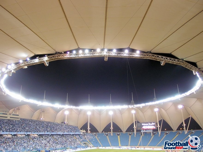 A photo of King Fahd International Stadium uploaded by dellsco