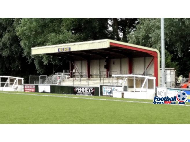 A photo of Kings Marsh Stadium uploaded by arsenet