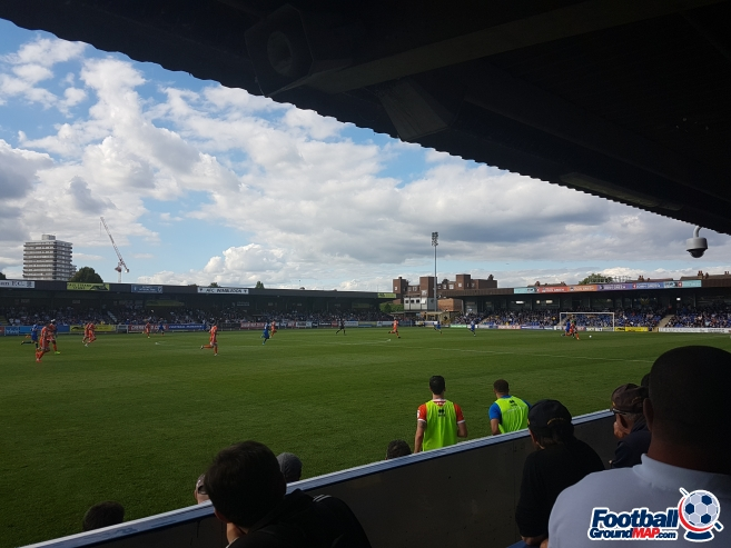 A photo of Kingsmeadow (Cherry Red Records Stadium) uploaded by calumlaing