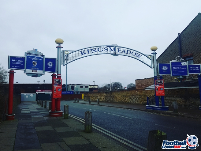 A photo of Kingsmeadow (Cherry Red Records Stadium) uploaded by grifftinfoilhat