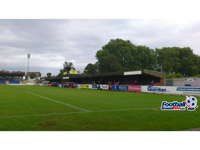 A photo of Kingsmeadow (Cherry Red Records Stadium) uploaded by biscuitman88