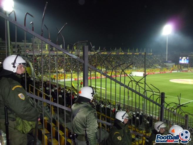 A photo of Kleanthis Vikelides Stadium uploaded by smithybridge-blue