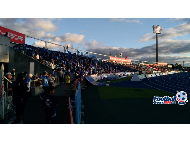 A photo of Ks Denki Stadium Mito uploaded by matttheox