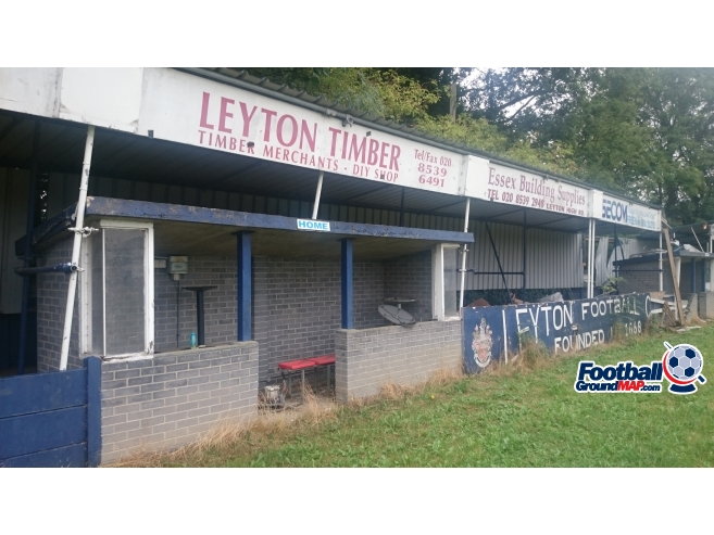 A photo of Leyton Stadium uploaded by biscuitman88