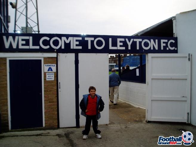 A photo of Leyton Stadium uploaded by millwallsteve