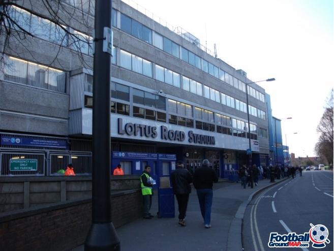 A photo of Loftus Road uploaded by walkerboii