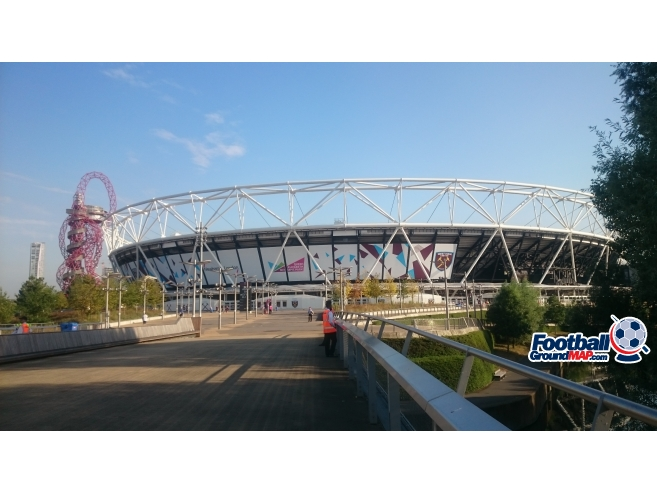 A photo of London Stadium (Olympic Stadium) uploaded by biscuitman88