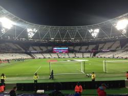An image of London Stadium (Olympic Stadium) uploaded by bha52