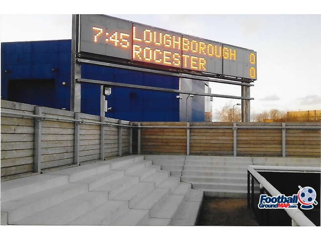 A photo of Loughborough University Stadium uploaded by rampage