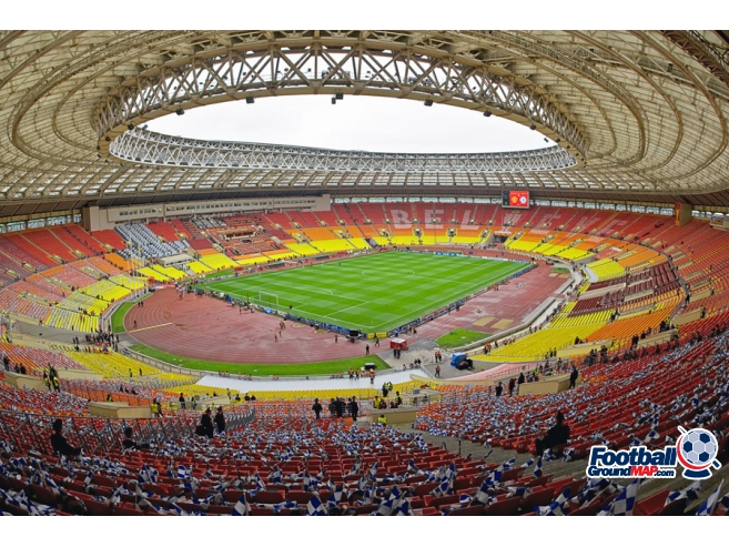 A photo of Luzhniki Stadium uploaded by zotov