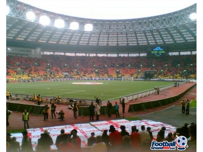 A photo of Luzhniki Stadium uploaded by simon