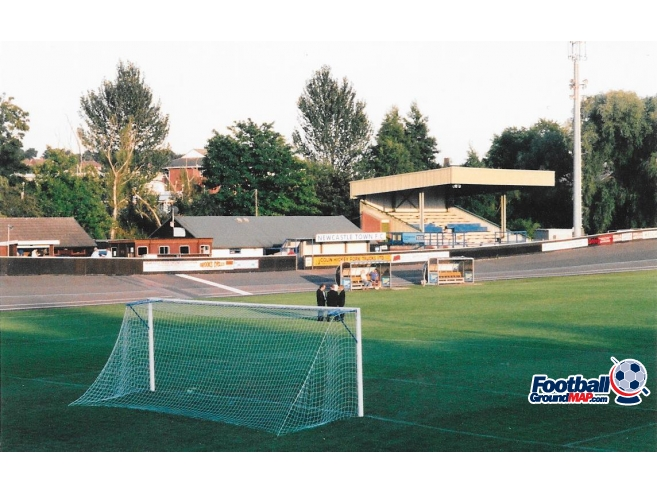 A photo of Lyme Valley Stadium uploaded by rampage