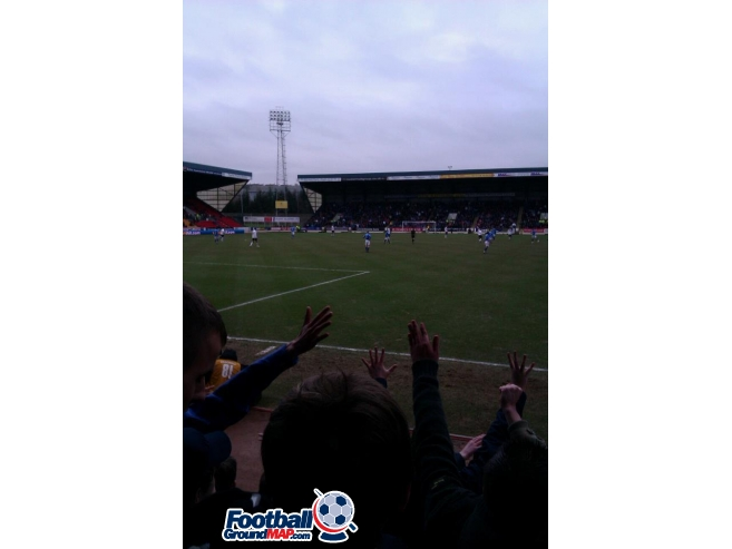 A photo of McDiarmid Park uploaded by southsidegers