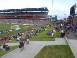 An image of McDonald Jones Stadium uploaded by etxebe