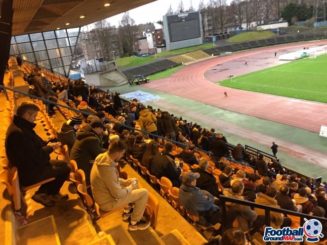 A photo of Meadowbank Stadium uploaded by 36niltv