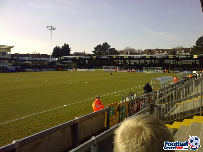 A photo of Memorial Stadium uploaded by trfccurt