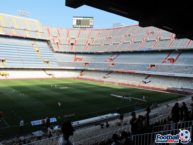 A photo of Mestalla uploaded by totalrecoyle