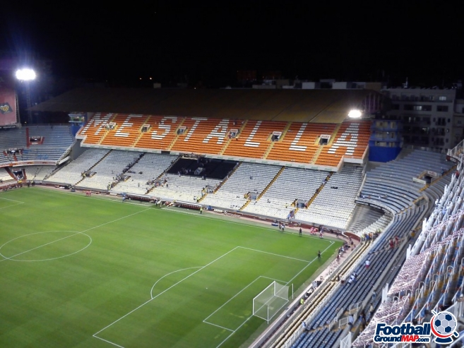 A photo of Mestalla uploaded by paulo11smith