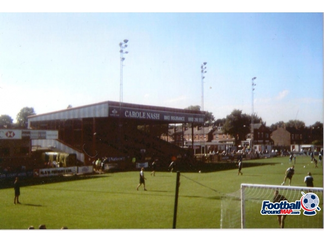 A photo of Moss Lane uploaded by scot-TFC