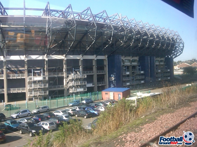 A photo of Murrayfield uploaded by dannyptfc