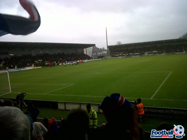 A photo of New St Mirren Park uploaded by southsidegers