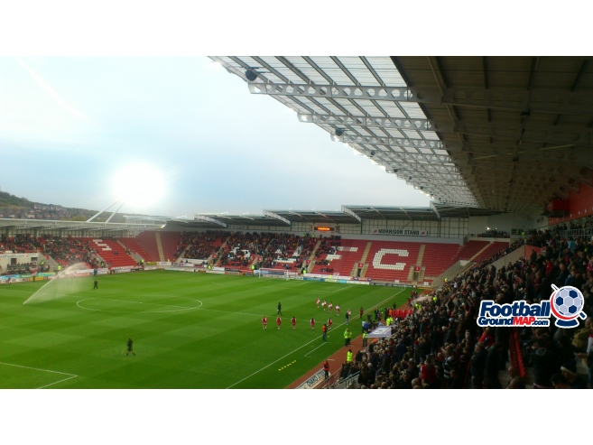 A photo of New York Stadium uploaded by biscuitman88