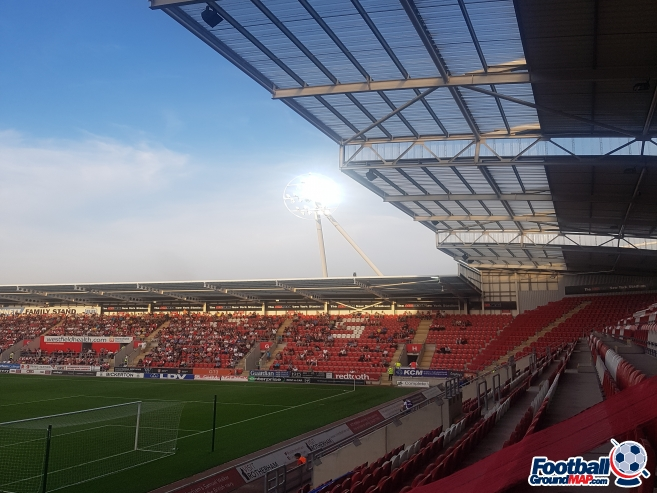 A photo of New York Stadium uploaded by grifftinfoilhat