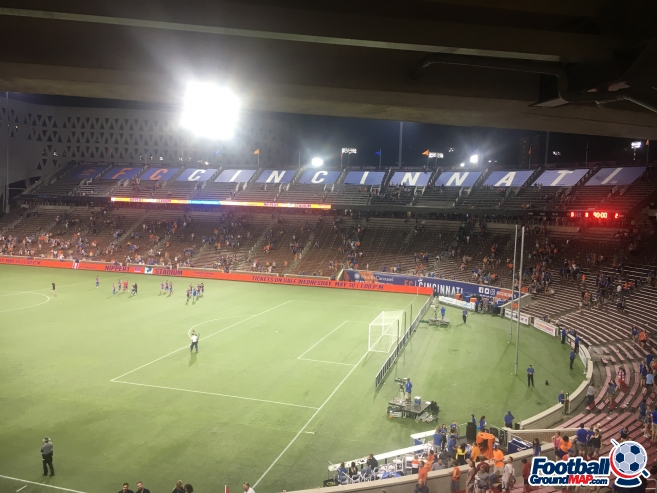 A photo of Nippert Stadium uploaded by flux