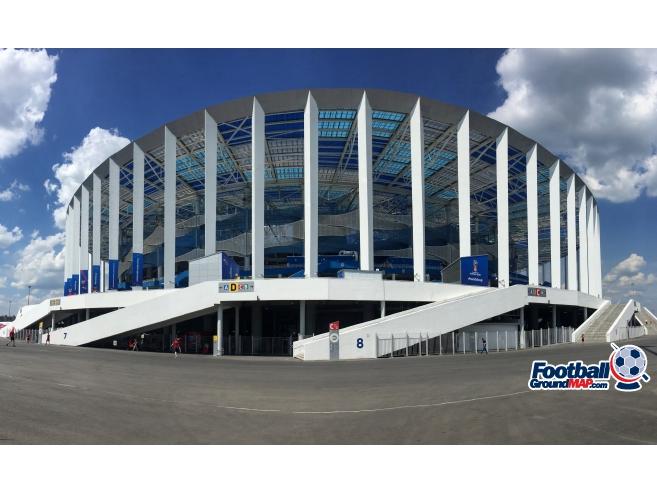 A photo of Nizhny Novgorod Stadium uploaded by richmatthewsuk