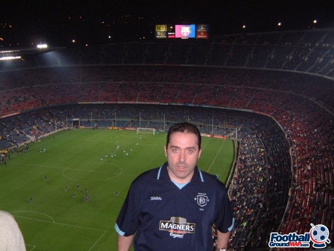 A photo of Nou Camp uploaded by mikethedee