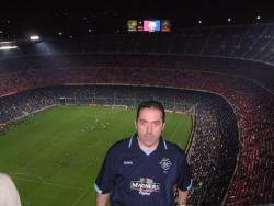 An image of Nou Camp uploaded by mikethedee