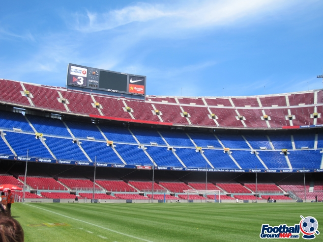 A photo of Nou Camp uploaded by totalrecoyle