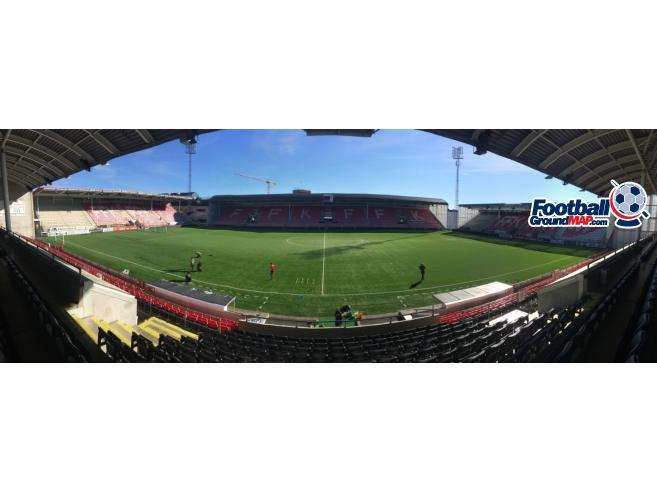 A photo of Nye Fredrikstad Stadion uploaded by tomscarbi