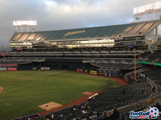 A photo of Oakland Coliseum uploaded by garstonian