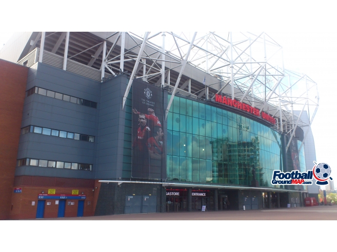 A photo of Old Trafford uploaded by biscuitman88