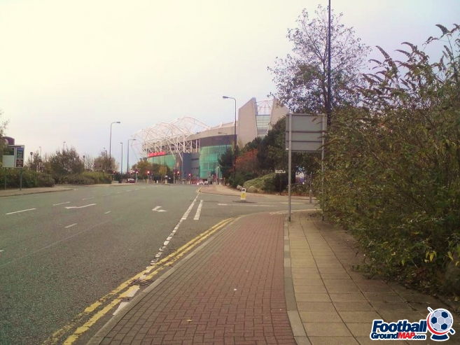 A photo of Old Trafford uploaded by cls14