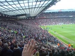 An image of Old Trafford uploaded by facebook-user-56362