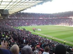An image of Old Trafford uploaded by facebook-user-54167