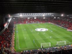An image of Old Trafford uploaded by facebook-user-100186