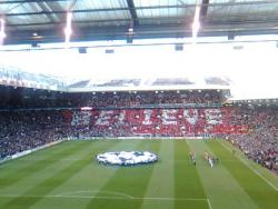 An image of Old Trafford uploaded by facebook-user-84896