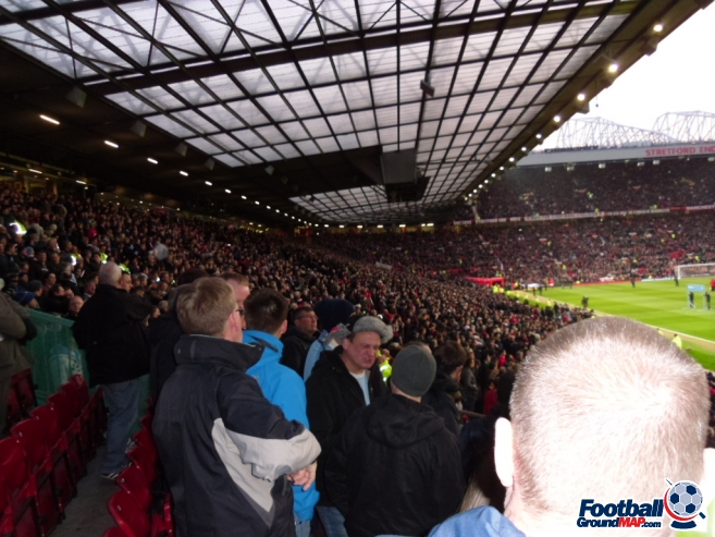 A photo of Old Trafford uploaded by smithybridge-blue