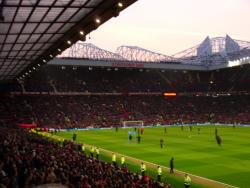 An image of Old Trafford uploaded by smithybridge-blue