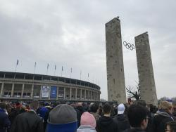 An image of Olympiastadion Berlin uploaded by jackstone