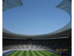 An image of Olympiastadion Berlin uploaded by mikat