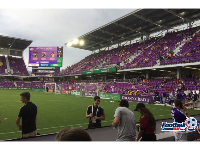A photo of Orlando City Stadium (Exploria Stadium) uploaded by millwallsteve