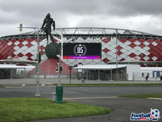 A photo of Otkrytiye Arena (Spartak Stadium) uploaded by jonnycollins